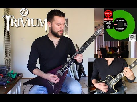I Don't Wanna Be Me - Trivium guitar cover (Type O Negative) | Chapman MLV, Epiphone MKH Les Paul