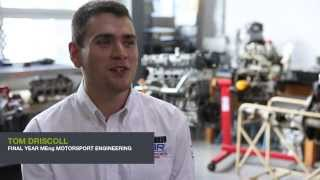Tom Driscoll - MEng Motorsport Engineering at Oxford Brookes University