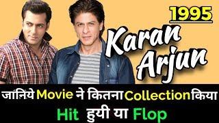 Shahrukh Khan & Salman Khan KARAN ARJUN 1995 Bollywood Film LifeTime WorldWide Box Office Collection