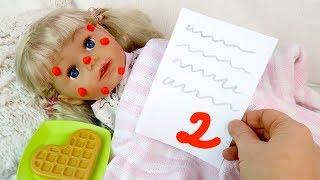 ОБМАНУЛА МАМУ ИЗ- ЗА ДВОЙКИ Куклы #Бебибон Беби Элайв Играем Как Мама Игрушки Для девочек