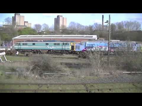 UKRL Leicester L.I.P. Depot Pass By 11/04/2015