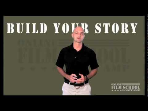 How to Build your story, screenplay, movie script