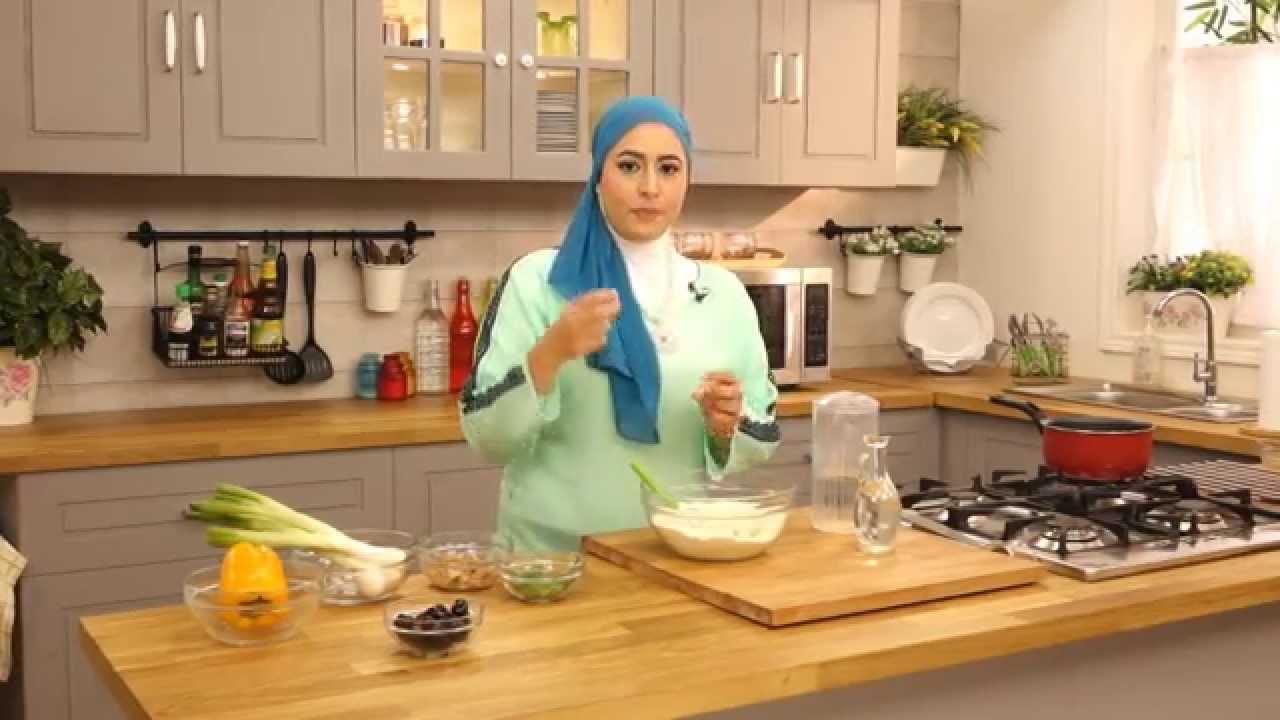 بيتزا بالبطاطس و جبنة نباتي مع سمر حمدى فى صحى (الجزء الأول)