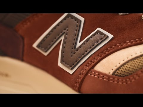 J.Crew on Film: J.Crew X New Balance® 997 Butterscotch