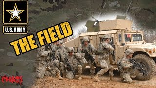 Going to the field in the Army