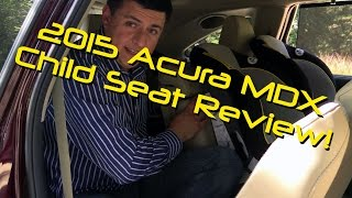 2015 Acura MDX Child Seat Review - Graco Classic Ride 50