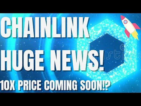 Chainlink MASSIVE News! - LINK HUGE Price Gains Coming!? - Chainlink Price Prediction 2021
