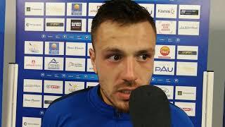 Réaction d Antoine Batisse après Pau FC - Concarneau (0-1)