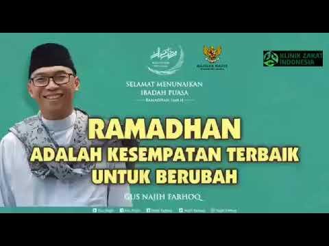 Gus Najih Farhoq, Ponpes Sunan Kalijogo Surabaya : Ramadhan Kesemptan Terbaik Untuk Berubah