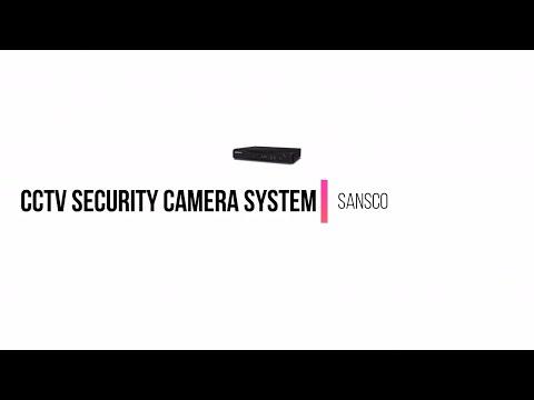 Excellent CCTV Security Camera System  - SANSCO