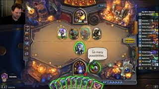 Even Handlock vs Murloc Paladin - Hearthstone