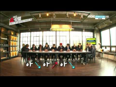 XIUMIN & LAY MIC TEST CUT @ EXO SHOWTIME