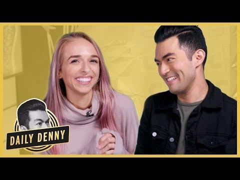 Jen McCallister AKA jennxpenn Plays 2 Truths & A Lie, Talks 'Foursome' Season 3 | Daily Denny