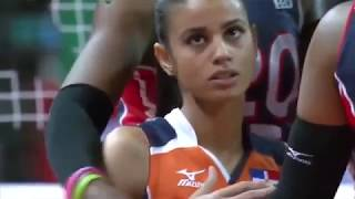 Winifer Fernandez Beautiful and skilled Indoor Volleyball Girl