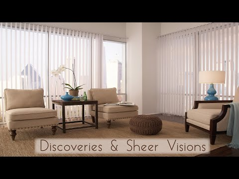 Discoveries & Sheer Visions Vertical BLinds