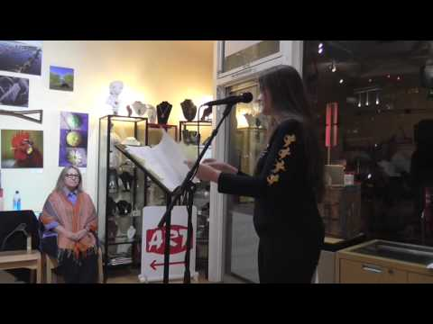 Ghost Town Poetry Open MIc 10-13-16 Featured Reader Naomi Fast