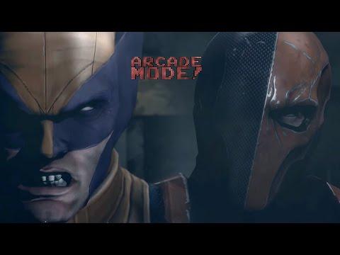 DEATHSTROKE vs. WOLVERINE   ARCADE MODE! [Episode 1]