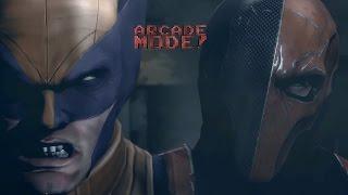 DEATHSTROKE vs. WOLVERINE | ARCADE MODE! [Episode 1]