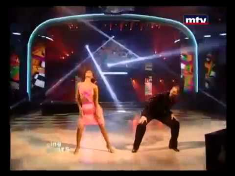 DWTSME - Elie Stefan dancing Salsa to
