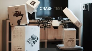 MAVIC MINI CRASH TEST | FULL SPEED IN A WALL