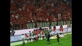 2017年6月18日 第15節 浦和レッズvsジュビロ磐田 試合後の選手挨拶です...
