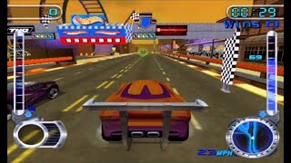 Hot Wheels Velocity X - Nintendo Gamecube Racer Games / Gameplay FHD