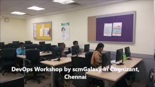 DevOps Workshop by scmGalaxy in Cognizant, Chennai