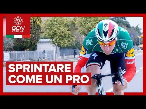 Elia Viviani vs. GCN Italia   Sprintare come un Pro