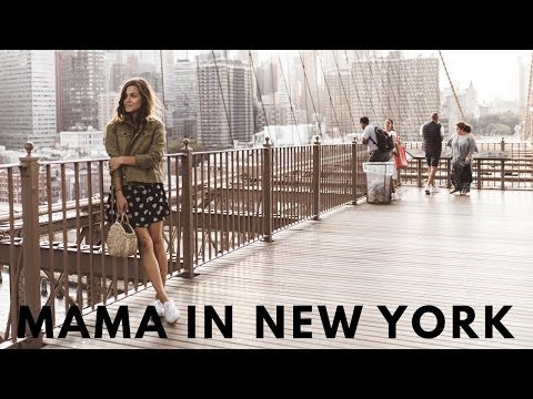 Mama in New York City | Weekly Vlog