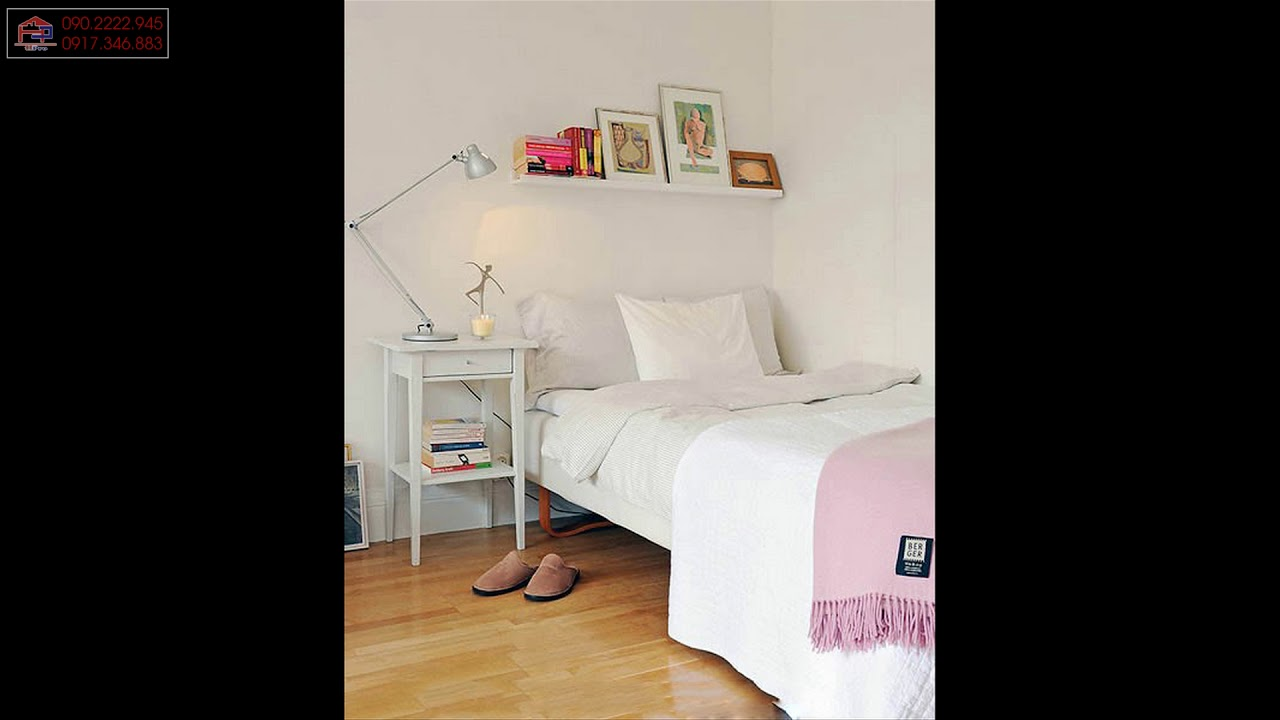 30 mẫu thiết kế phòng ngủ nhỏ 8m2 hiện đại, tiện nghi