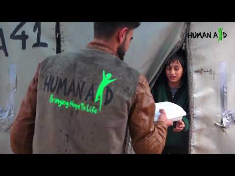 Human Aid UK | Winter Container Distribution to Syrian Refugees [March 2018]