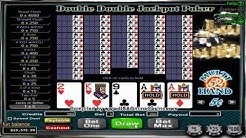 Desert Nights Casino   Double Double Jackpot Poker 52 Hand Video Poker