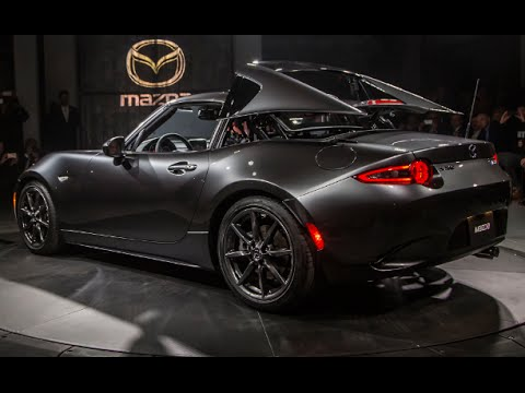 2017 mazda mx 5 miata rf first look exterior interior youtube. Black Bedroom Furniture Sets. Home Design Ideas