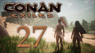 Conan Exiles - прохождение игры на русском - Религия Йога, зачистки Дарфарских лагерей [#27]   PC