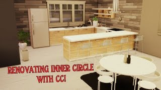 The Sims 4: Renovating Inner Circle with CC!