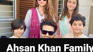 Ahsan Khan Beautiful Family Eid Pictures 2020//Meet Ahsan Khan family