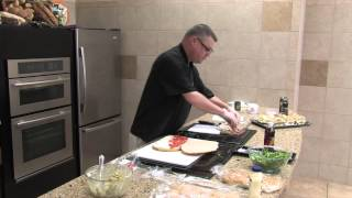 Recipe: Arugula, Mozzarella, Tomato On Focaccia