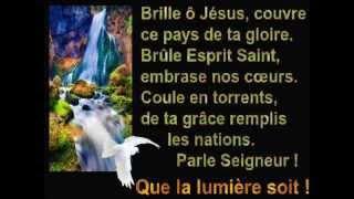 ♫ † Brille ô Jésus par ta clarté