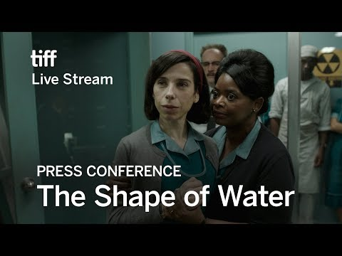 THE SHAPE OF WATER Press Conference | Festival 2017
