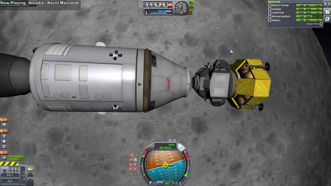 Kerbal Space Program Making History - Quick Apollo-Saturn V Build