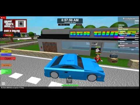 Grand theft Blox Online PART 1