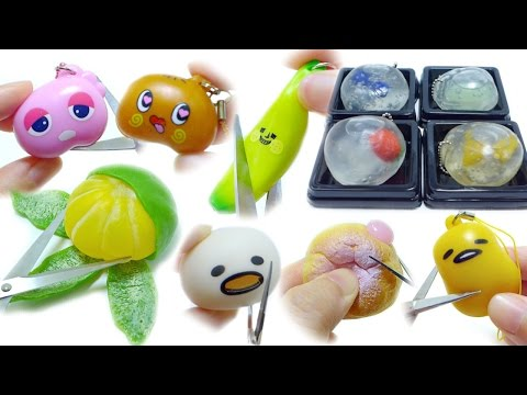 Cutting Open Squeeze Toy Compilation | ASMR Edition