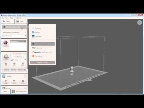 Autodesk Meshmixer 101: 3D Printing