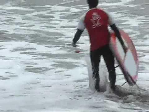 Peru Surfing SUPs Standup Paddle Board converts to Windsurfer