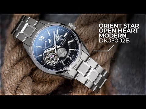 First Impressions and Unboxing - Orient Star Open Heart Modern DK05002B