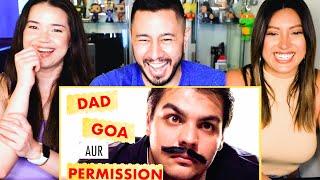 Ashish Chanchlani   Dad Goa aur Permission   Reaction by Jaby Koay, Achara Kirk and Natasha Martinez
