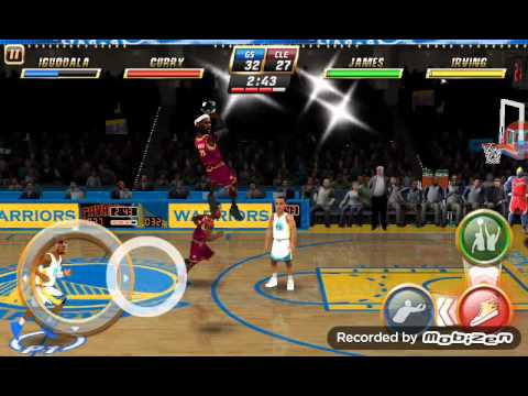Nba jam mobile edition (golden state vs Cleveland