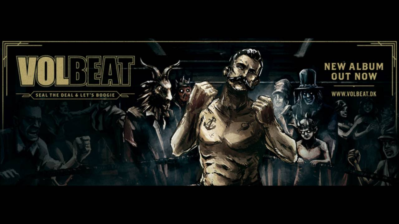 Volbeat - Battleship Chains 2016 (New Album) Seal The Deal And Let's Boogie