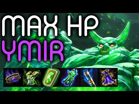 SMITE: MAX HP YMIR BUILD