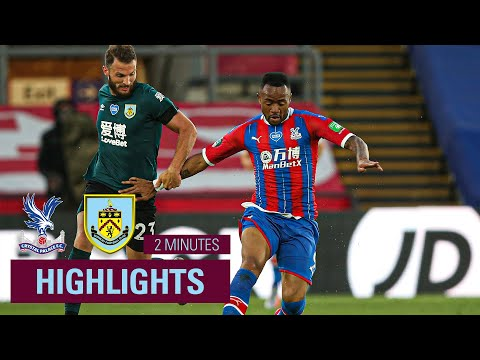 Crystal Palace Burnley Goals And Highlights
